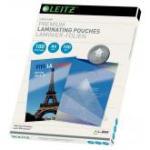 Folie LEITZ UDT pentru laminare la cald,  A4, 100 microni 100 folii/top