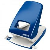 Perforator metalic LEITZ 5138 NeXXt Series, 40 coli - albastru