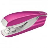 Capsator metalic, LEITZ WOW 5502 NeXXt Series, cutie, 30 coli - roz metalizat