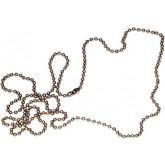 Lantisor pentru ecusoane, 90 cm, 100/cut, OPUS