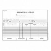 Dispozitie livrare, format A5, 100 coli/carnet