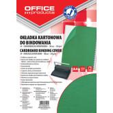 Coperta carton imitatie piele 250g/mp, A4, 100/top Office Products - verde