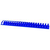 Inele plastic 51 mm, max 500 coli, 50buc/cut Office Products - albastru