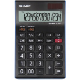 Calculator de birou, 14 digits, 176 x 112 x 13 mm, dual power, SHARP EL-145TBL - negru