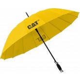 Umbrela CATERPILLAR Lash, automata, rezistenta la vant - galbena